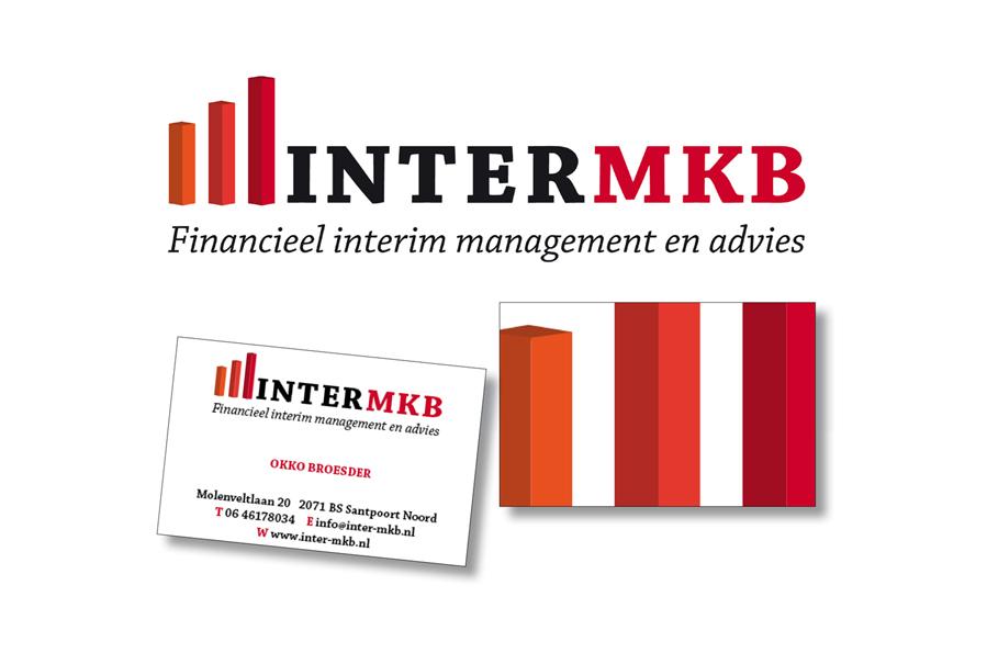 Logo en visitekaartjes van Inter-MKB door Willeke Vrij Vormgeving