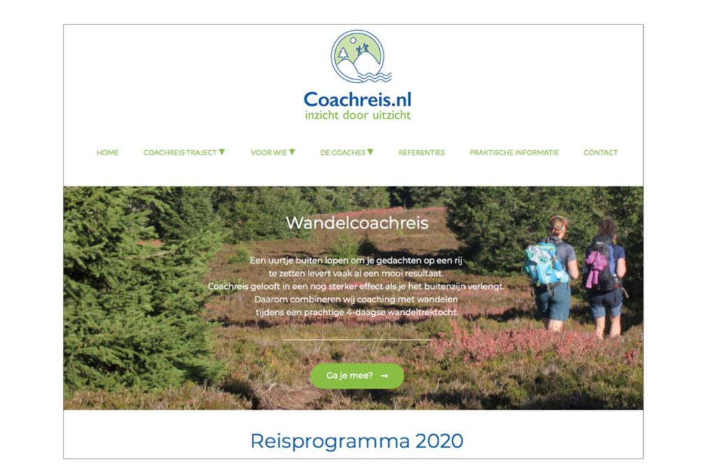 website coachreis.nl